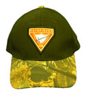 Baseball Cap - PF tri Club - Black with Camo Bill