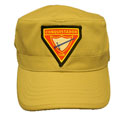 Flat-Top Cap - Khaki - PF TRIANGLE Club