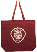 CHOOSE THE OLD NOR NEW ADV LOGO - ADV-1 color Large Zip top tote bag - maroon