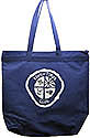 Baby Birds, Little Lambs, Eager Beavers, Discovery Club -  Zippered Staff Totebag - Lt. Blue