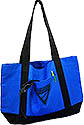 Open top totebag - royal/black - PT-1 black