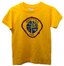 Adv-4/ 3 Color T-Shirt - Kids & Adults on Gold- $8.00 & UP