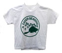 4 Color Shirt Options - Kids & Adults Eager Beaver T-Shirt - Green ink - $6.00 & UP