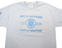 Adventurer O.A.A.A T-Shirt - blue ink - Kids & Adults on many colors - $6.00 & up