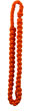 Orange Braided Shoulder Cord