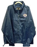 Nylon Wind-Water Resistant Jacket with embroidered Logos-6 Choices
