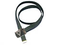 Pathfinder Uniform Black Web Belt and Silver Buckle