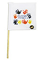 Mini Flag - Helping Hands