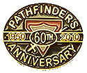 Pathfinders 60th Anniversary Pin