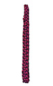 Purple Braided Shoulder Cord