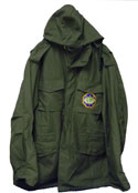 Military Grade Field Jackets - Olive Green or Black / MG 6 word Logo