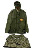 MIlitary Grade Field Jackets - Black / OPAP & 8 logo options