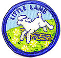 "2"" -Round Little Lamb Beret  Patch"