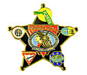 Black Star 2009 Courage to Stand Trading Pin