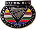 Pathfinder - Learn it, Love it, Live it Pin - 1.25""