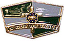 Master Guide - In God we Trust Pin - 1.25""