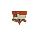 "Pathfinder Onward Christian Soldier - 1"" Pin"