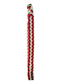 2 Color Double Braided Shoulder Cord - Burgundy / Gray