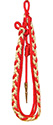 Red & Gray Citation Cord (4 Strand)