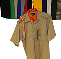 Military Style Bib Scarves - many Color Choices