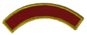 IAD Pathfinder Club Crest -WITH club name- Yellow Edge -6 pc lots