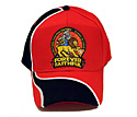 OSHKOSH 2014 HAT - RED/BLK-WH/SWIRL
