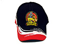 OSHKOSH 2014 HAT - BLACK/WH-RED SPLASH