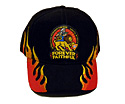 OSHKOSH 2014 HAT - BLACK / RED FLAME