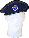 Adventurer Beret  with choice of logo-Navy  OR Maroon