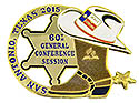 60th GC Session Collectors Trading Pin - 30 DAY CLOSEOUT