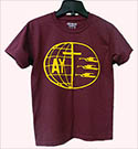 MAROON AY T- SHIRT - $7.00 AND UP