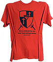 2nd Samuel 22:31 PF Shield - Black logo on Many colored Shirts - $6 & up