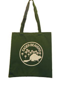 Eager Beaver One Color Kids Totebag -  Dark Green