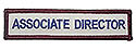 Stock ADV Sleeve Title Strip - Associate Director