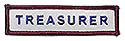 Semi-Custom ADV Sleeve Title Strip - Treasurer