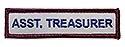 Semi-Custom Adv Sleeve Title Strip - Asst. Treasurer