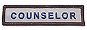 Stock ADV Sleeve Title Strip - Counselor