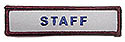 Semi-Custom Adv Sleeve Title Strip - Staff