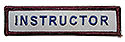 Stock ADV Sleeve Title Strip - Instructor
