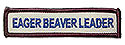 Eager Beaver Leader Custom Title Strip