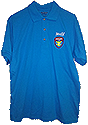 50/50 Polo with New Nad Adv emb logo on 9 Shirt colors and Title options