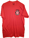 TLT  POCKET LOGO T-SHIRT- RED  WITH CHESAPEAKE