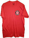 TLT  POCKET LOGO T-SHIRT- RED