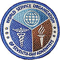 "MCC World Org. Service Patch - 3""  Left Sleeve"