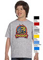 Chosen 2019 - Youth T-Shirt - full front logo ON MANY SHIRT COLORS