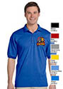 POLO- ROYAL WITH CHOSEN 2019 POCKET LOGO  - ON 6 COLORS