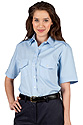 Ladies Short Sleeve Class A Shirt- LT Blue $29.99 & UP