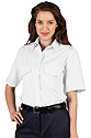 Ladies  Short Sleeve Class A Shirt - White