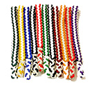 Easy Order -2 Color -White Braided Cords- 11 stock colors & custom options