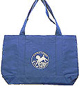 Little Lamb Front Pocket Staff Totebag - Royal Blue